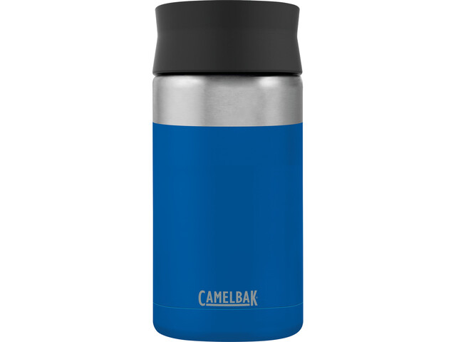 CamelBak Hot Cap Botella Aislante de Acero Inoxidable 300ml, cobalt